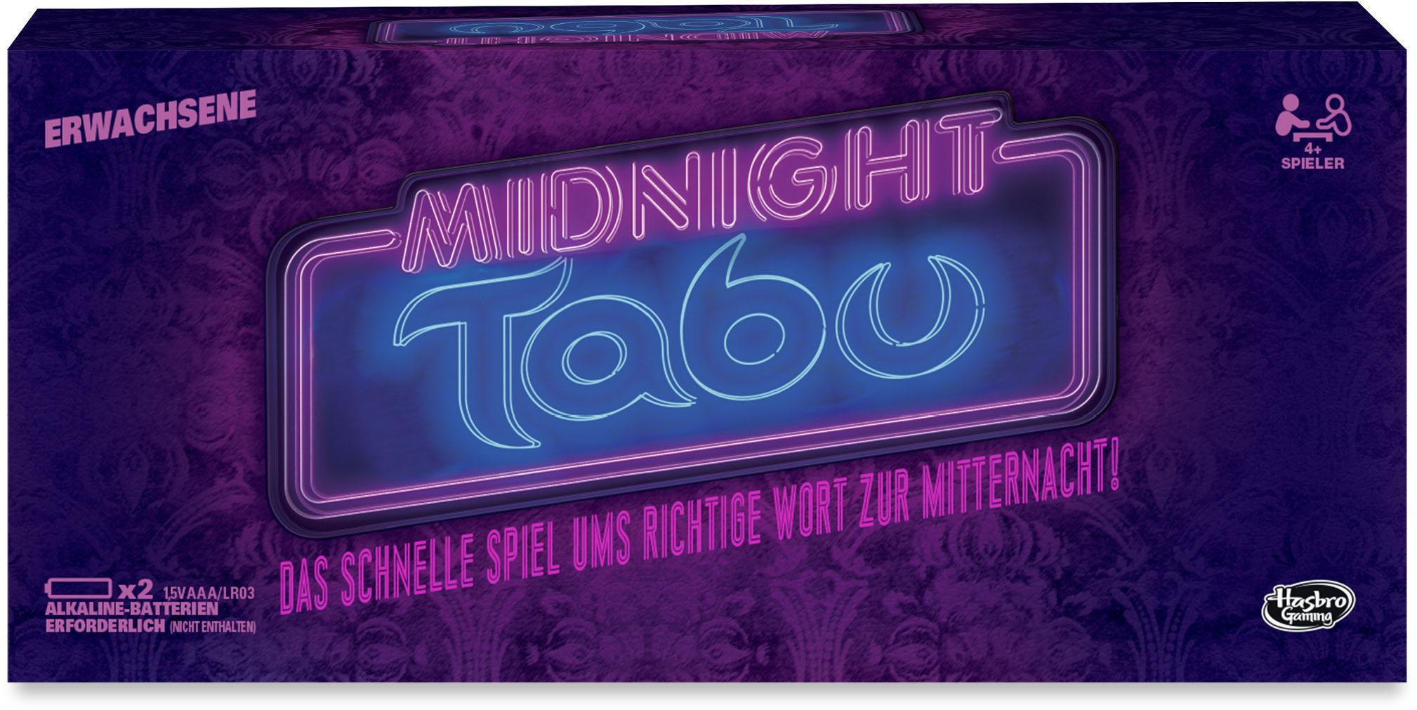 Hasbro Partyspiel, »Tabu Midnight«
