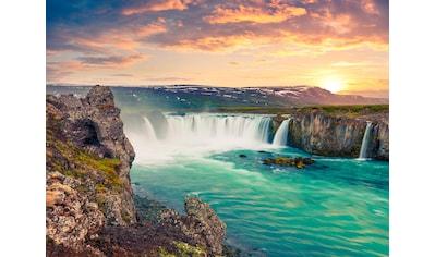 Papermoon Fototapete »Godafoss Waterfall Iceland« kaufen