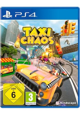 PlayStation 4 Spiel »Taxi Chaos«, PlayStation 4 kaufen