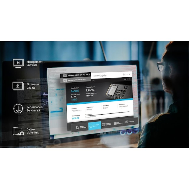 Samsung »970 EVO Plus NVMe M.2 SSD« SSD