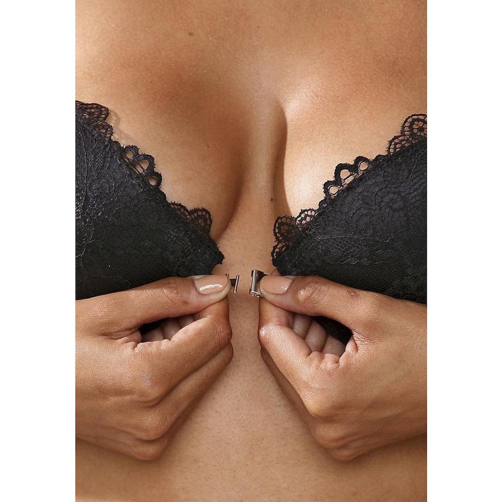 LASCANA Push-up-BH »Melissa«, mit Vorderverschluss