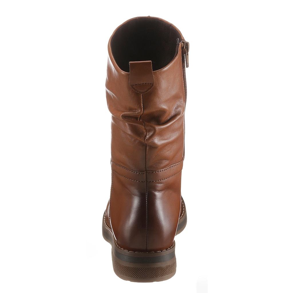 Gabor Stiefel »RHODOS«, mit Kontrast-Rahmennaht