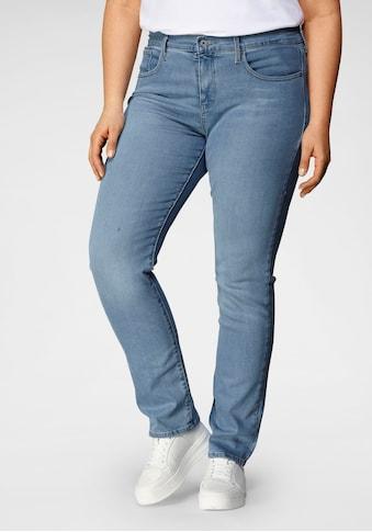 Levi's® Plus Straight-Jeans »314«, High Waist mit Shaping Effekt kaufen