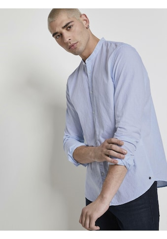 TOM TAILOR Denim Langarmhemd »Strukturiertes Hemd« kaufen