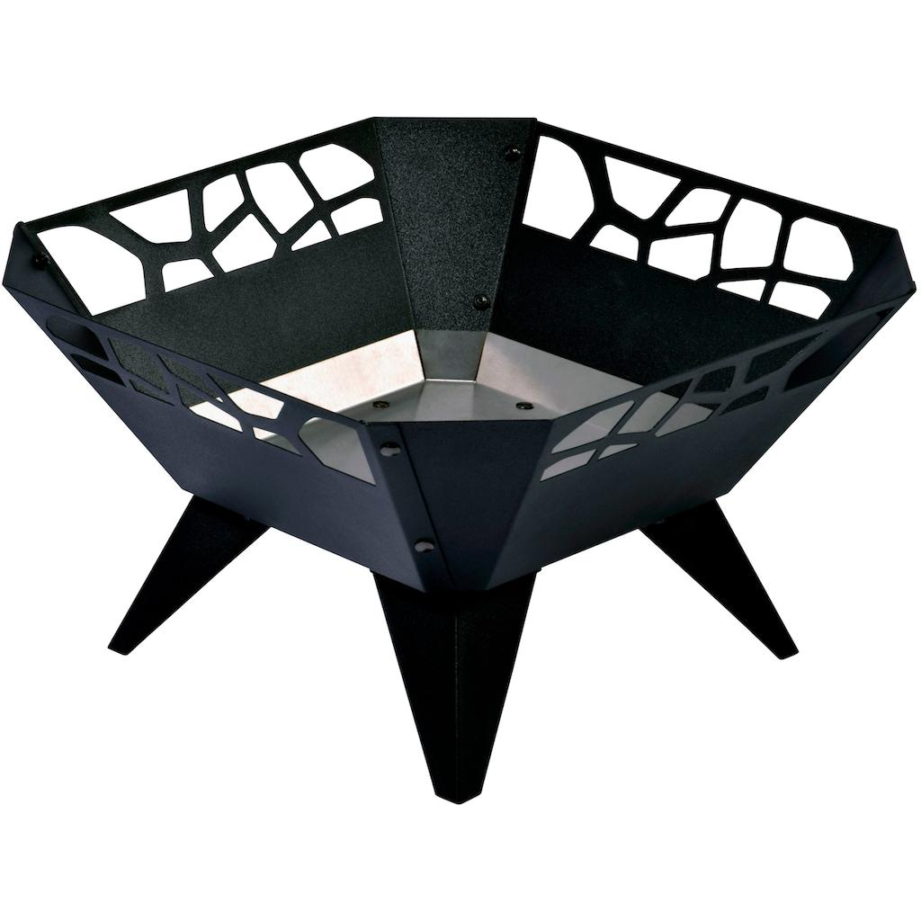 dobar Feuerschale »Design«, BxLxH: 51,5x51,5x30 cm