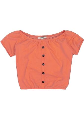 Garcia T-Shirt, mit großem elastischem Ausschnitt kaufen