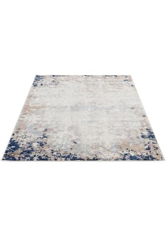 Sehrazat Teppich »Montana 3720«, rechteckig, 8 mm Höhe, Kurzflor, Vintage Design,... kaufen