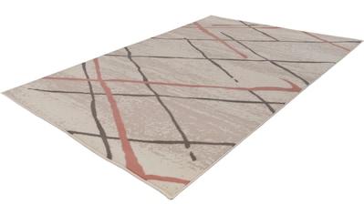 calo-deluxe Teppich »Brazda 050«, rechteckig, 10 mm Höhe, Kurzflor, Wohnzimmer kaufen