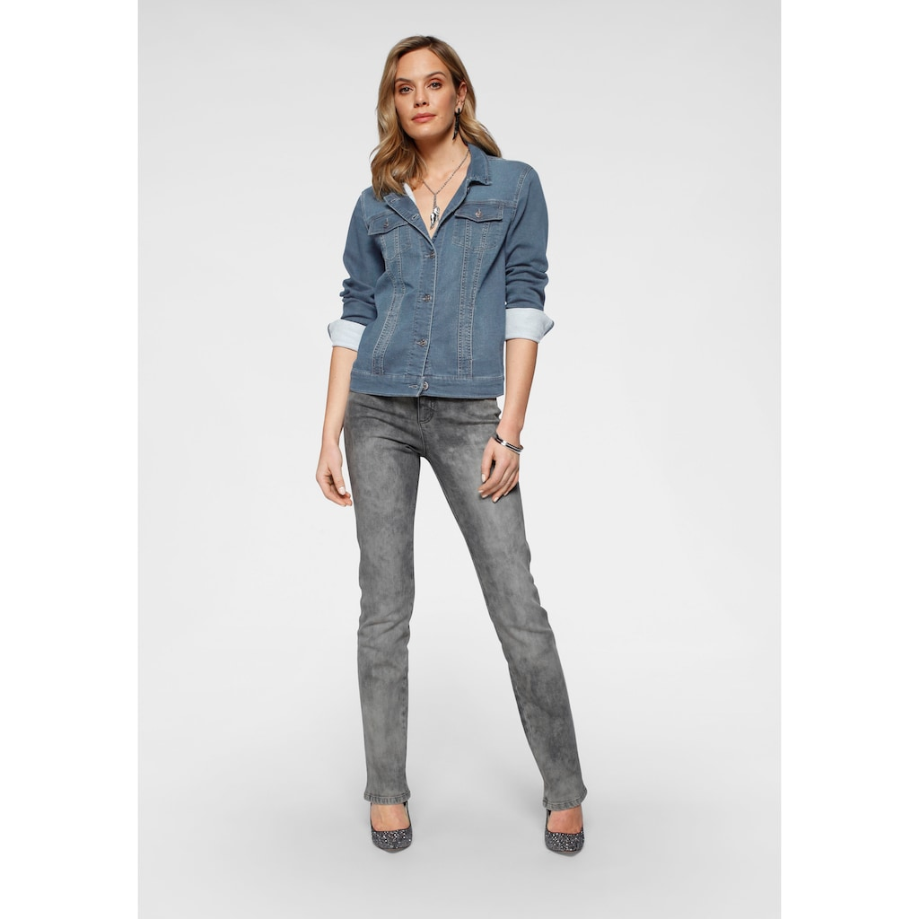 Arizona Jeansjacke, aus Jogg-Denim