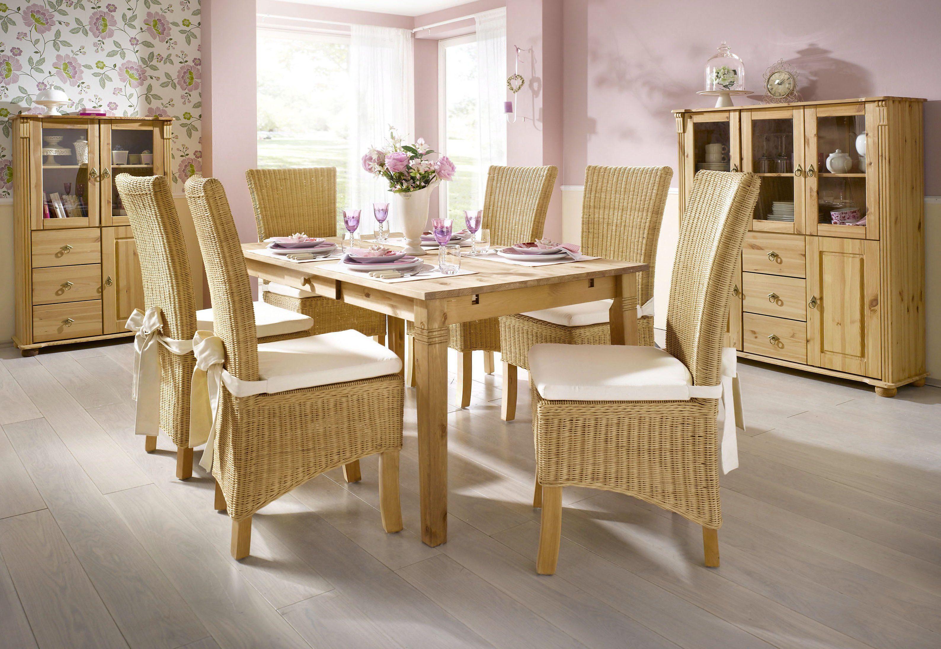 Tisch, Home affaire, wahlweise mit Schublade