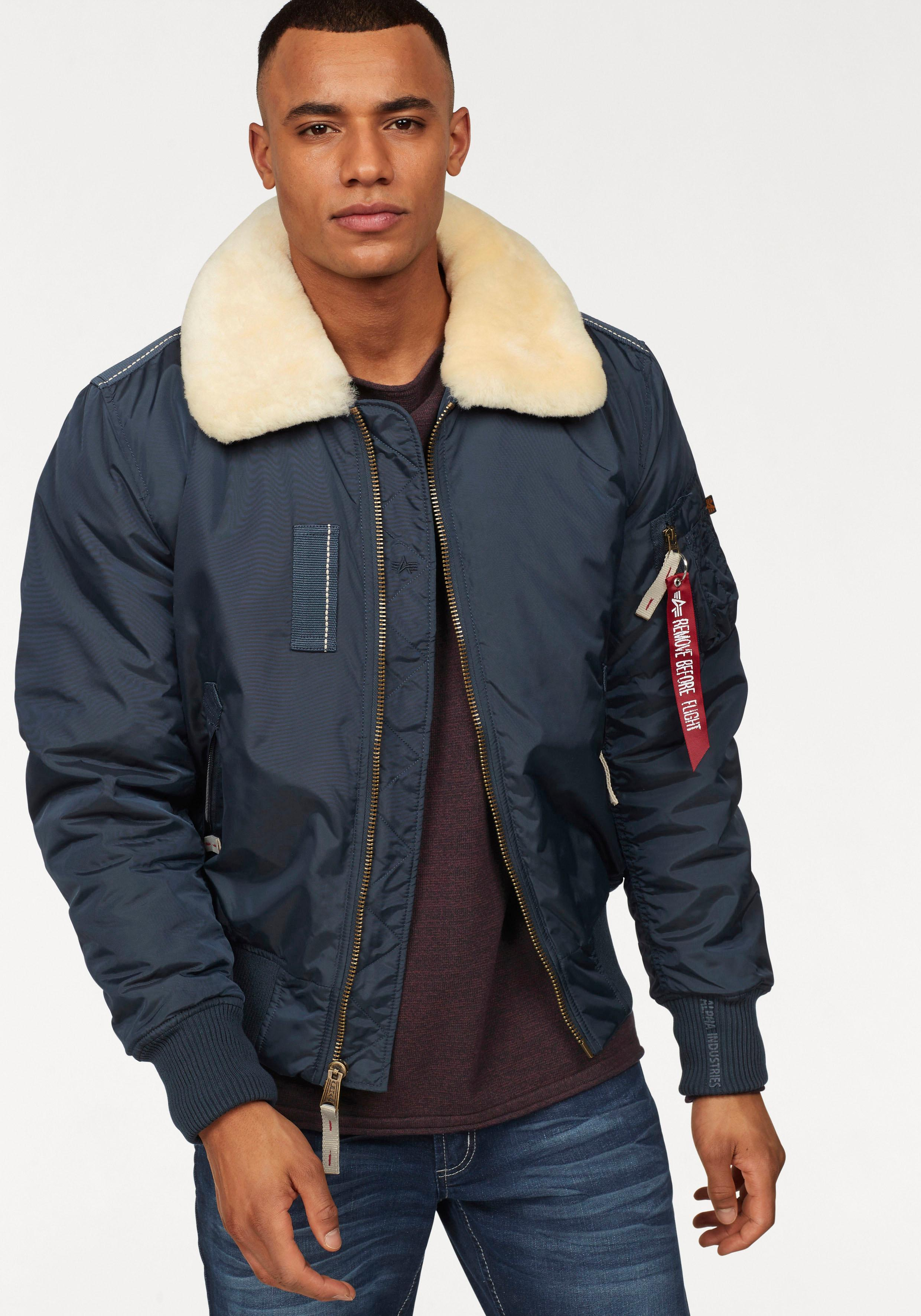 best website 8e177 918bb Alpha Industries Bomberjacke INJECTOR III