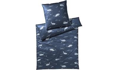 Elegante Bettwäsche »Big Blue«, angenehmes Hautgefühl kaufen