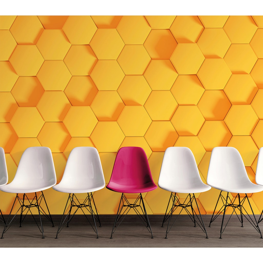 living walls Fototapete »Designwalls Honeycomb 2«