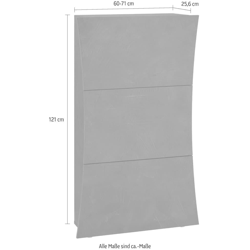 Tecnos Schuhschrank »Arco«, Frontbreite 60-71 cm
