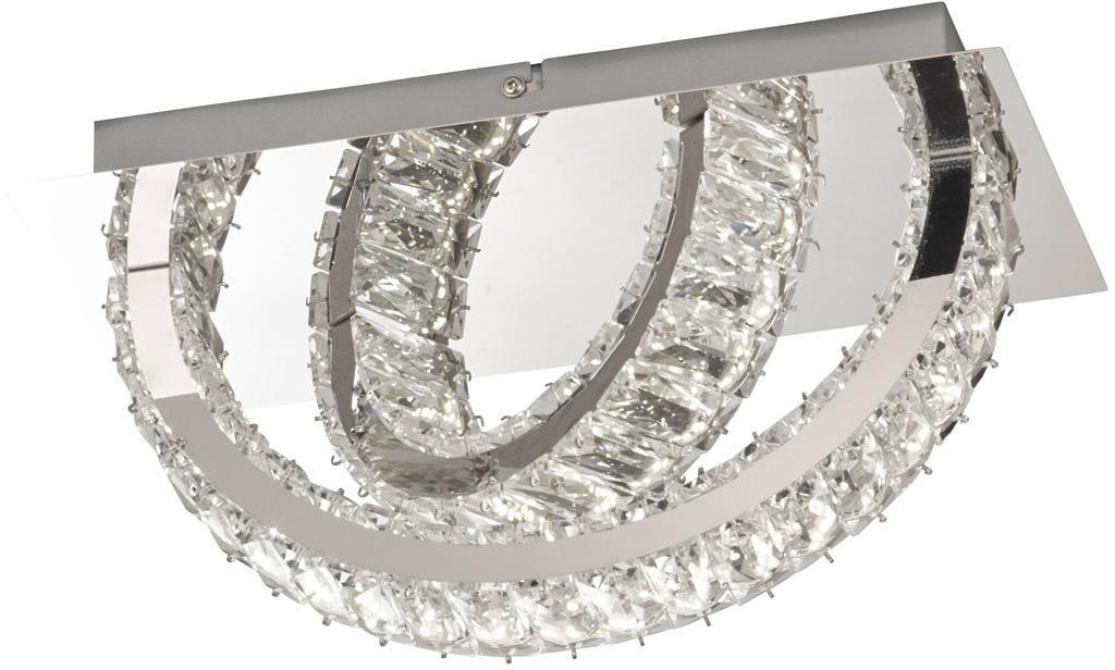 WOFI LED Wandleuchte ANESA, LED-Board, Warmweiß