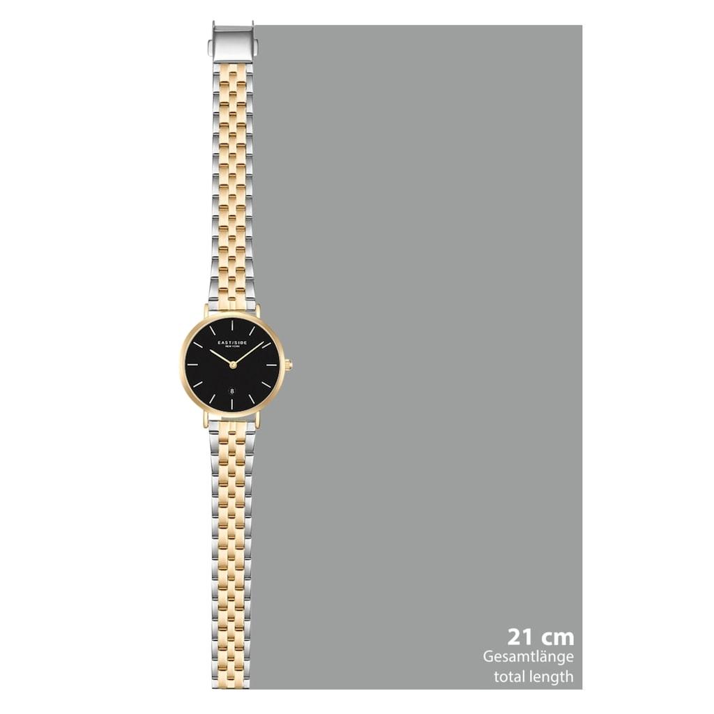 Eastside Quarzuhr »ES332«, (1 tlg.), mit Edelstahl-Armband