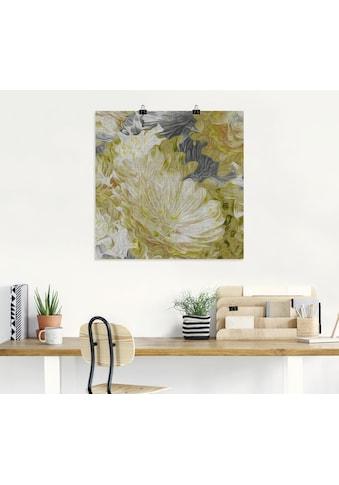 Artland Wandbild »Chrysanthemen in der Sonne II«, Blumen, (1 St.), in vielen Größen &... kaufen