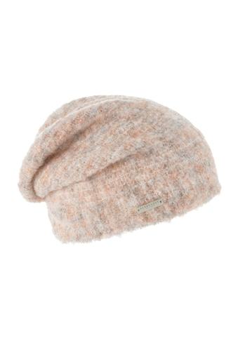 Seeberger Strickmütze »Mütze in flauschigem Melange Garn 18230-0« kaufen
