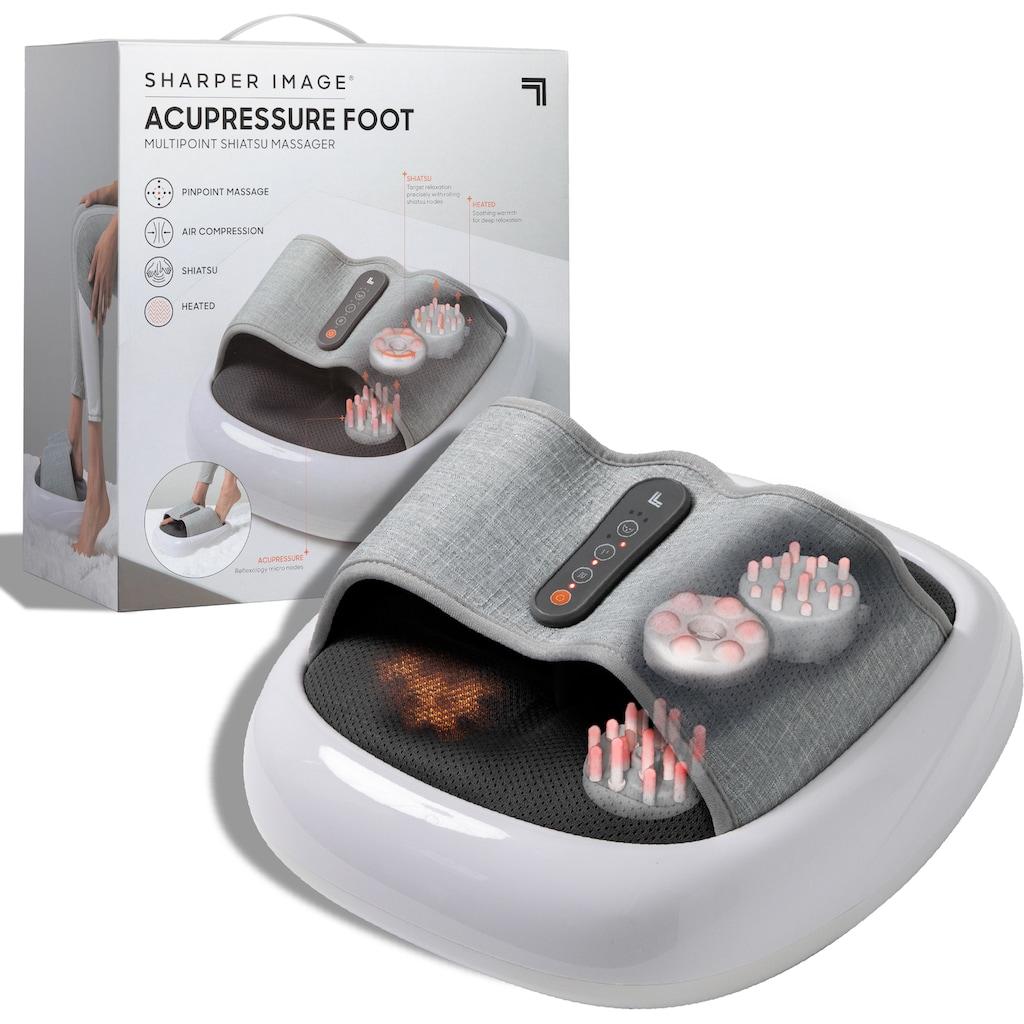 Sharper Image Shiatsu-Fußmassagegerät