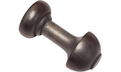 Schalhalter »Schalhalter mit Haken, Holz«, GARDINIA, passend für Gardinen (Set) kaufen