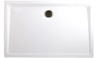 SCHULTE Set: Duschwanne »extra - flach«, rechteckig, BxH: 90 x 75 cm kaufen