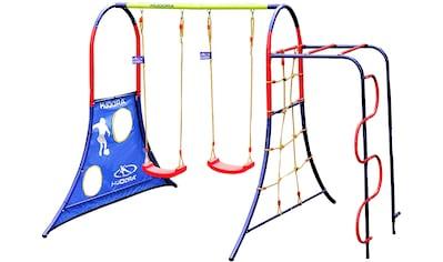 Hudora Schaukelkombination »Spielplatz 64019«, BxLxH: 300x230x210 cm, für bis zu 4... kaufen