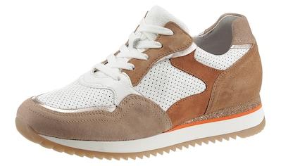 Gabor Keilsneaker »TURIN«, mit Kontrastbesätzen kaufen