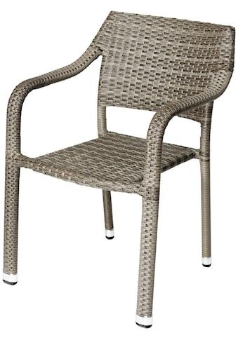 DESTINY Sessel »Triest«, Polyrattan kaufen