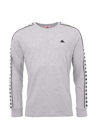 Kappa Langarmshirt »GROLF«, mit hochwertigem Logoband an den &Auml;rmeln<br /> kaufen