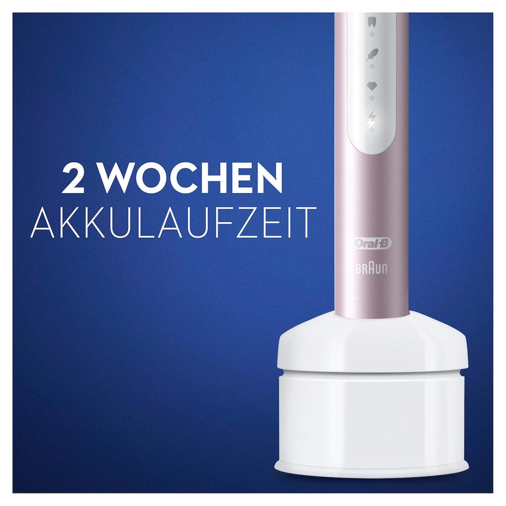 Oral B Schallzahnbürste »Pulsonic Slim Luxe 4100«, 2 St. Aufsteckbürsten