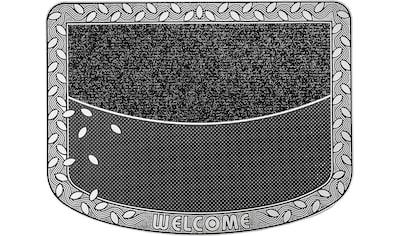 CarFashion Fußmatte »TC Clean Leaves«, rechteckig, 8 mm Höhe, Fussabstreifer,... kaufen