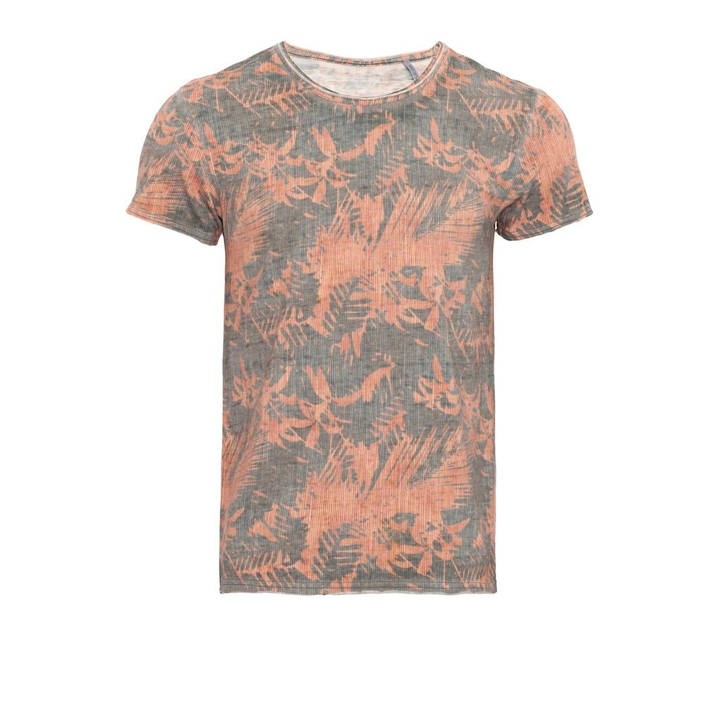 Way of Glory T-Shirt, Tropical Print & Tasche
