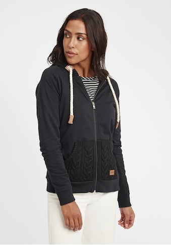 OXMO Kapuzensweatjacke »Matilda«, Sweatshirtjacke mit Fleece-Innenseite kaufen