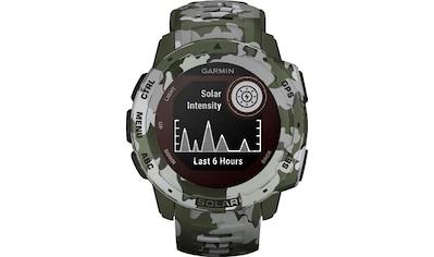 Garmin Instinct Solar Camo Edition Smartwatch (2,3 cm / 0,9 Zoll) kaufen