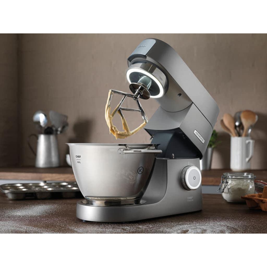 KENWOOD Küchenmaschine »Chef Titanium KVC7300S«, 1500 W, 4,6 l Schüssel