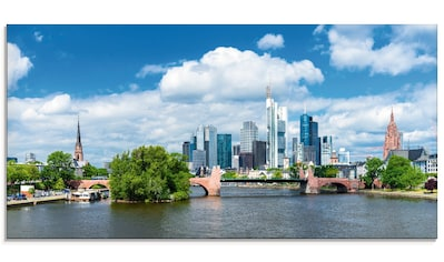 Artland Glasbild »Frankfurt am Main«, Deutschland, (1 St.) kaufen
