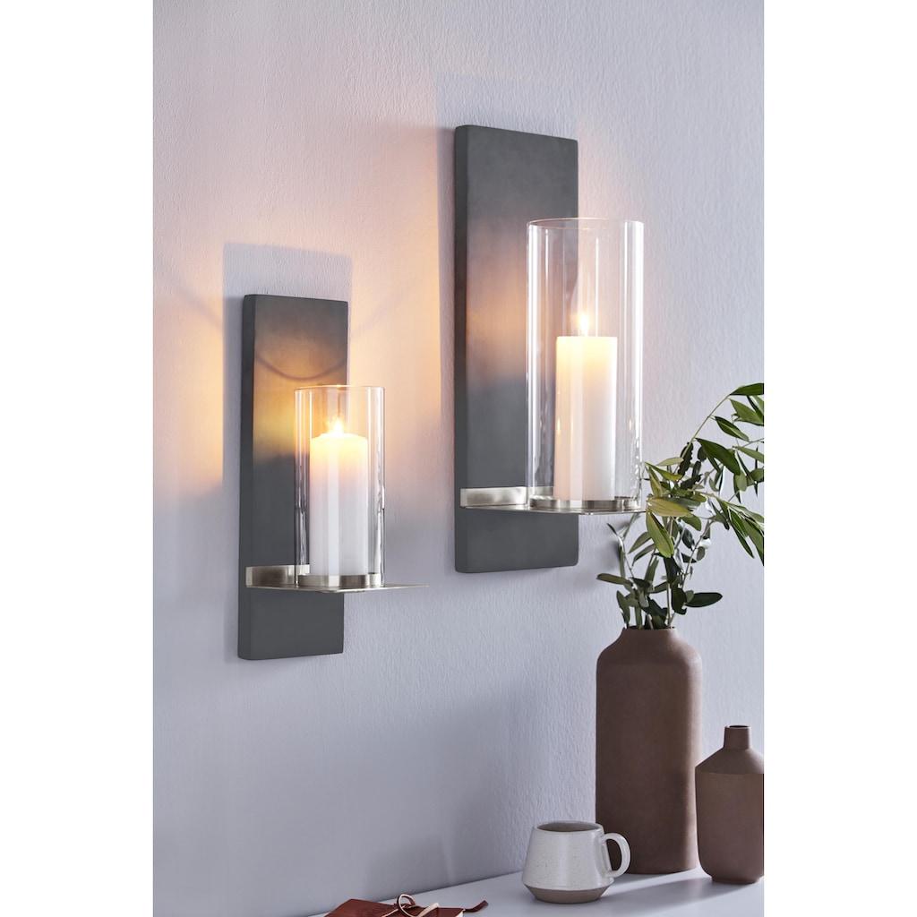BLOMUS Wandkerzenhalter »FINCA«, Kerzen-Wandleuchter, Kerzenhalter, Kerzenleuchter hängend, Wanddeko