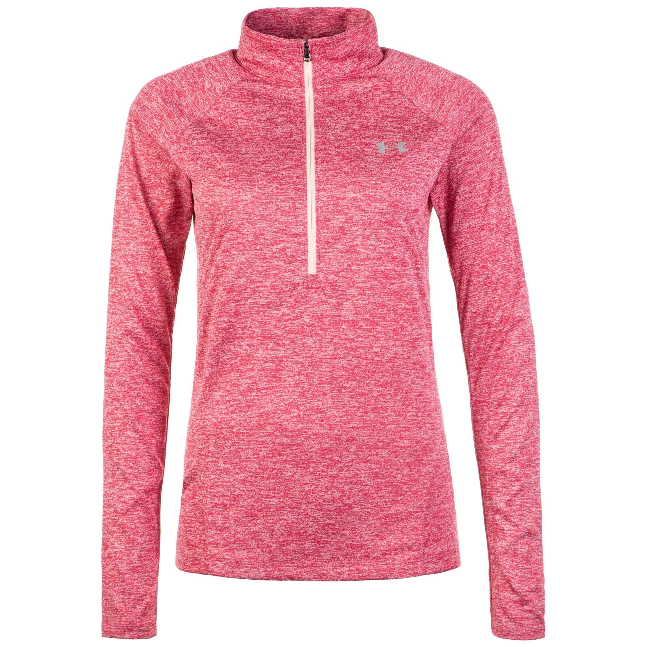 Under Armour Trainingsshirt Heatgear Tech Twist | Sportbekleidung > Sportshirts > Funktionsshirts | Rosa | Under Armour