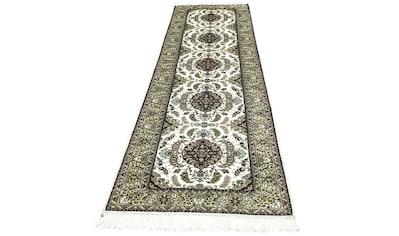 morgenland Wollteppich »Hereke Seide Teppich handgeknüpft beige«, rechteckig, 6 mm Höhe kaufen