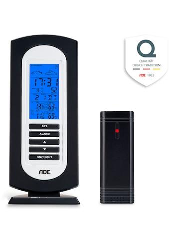 ADE Funkwetterstation »WS1822«, (mit Außensensor), Temperatur, Luftfeuchtigkeit,... kaufen
