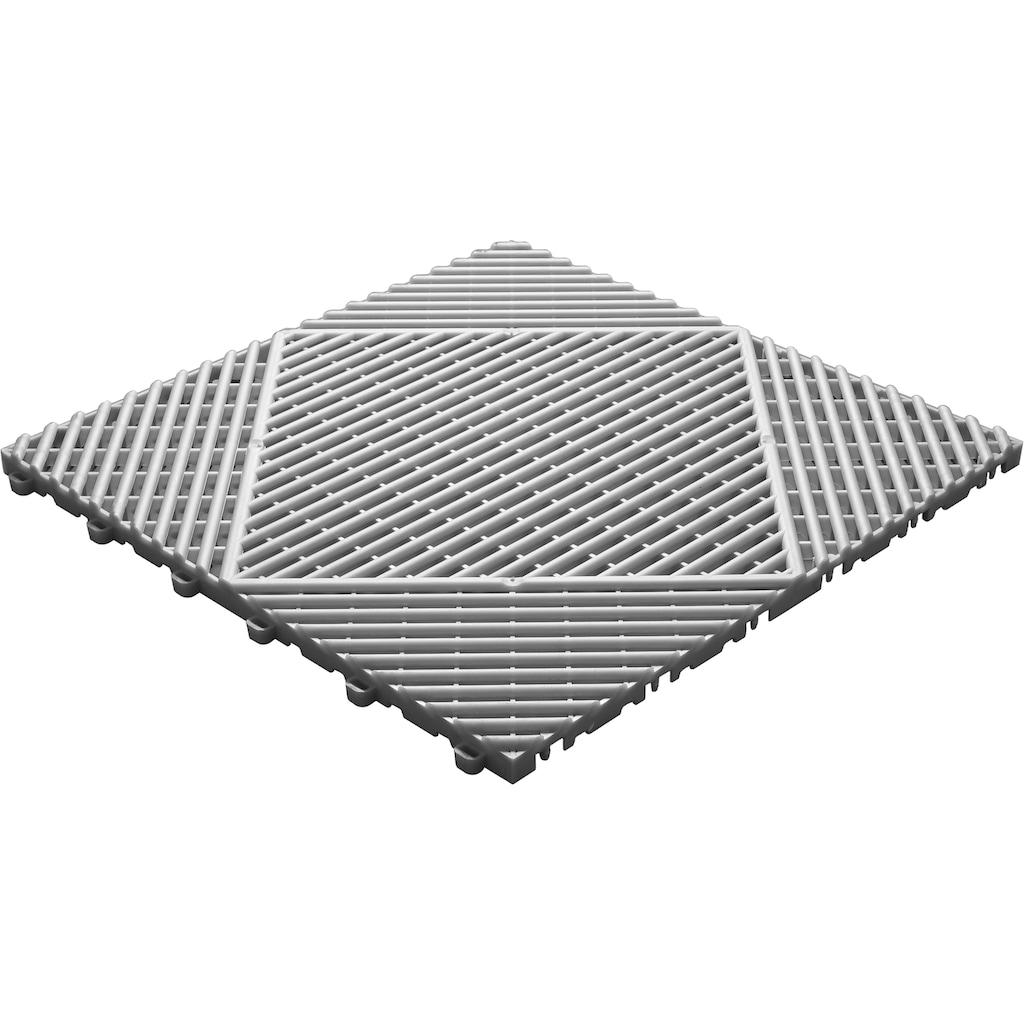 florco® Terrassenplatten »classic«, Klickfliesen