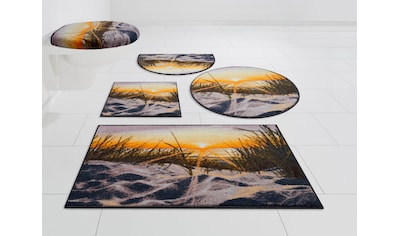 GRUND exklusiv Badematte »Ostsee«, Höhe 9 mm, rutschhemmend beschichtet, strapazierfähig kaufen
