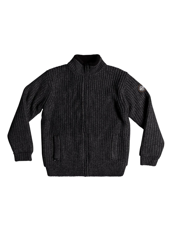 Quiksilver Pullover und Sherpa-Futter »Boketto«   Bekleidung > Pullover > Sonstige Pullover   Schwarz   QUIKSILVER