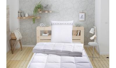 Älgdröm Daunenbettdecke »Sorsele«, leicht, Füllung 60% Daunen & 40% Federn, Bezug... kaufen
