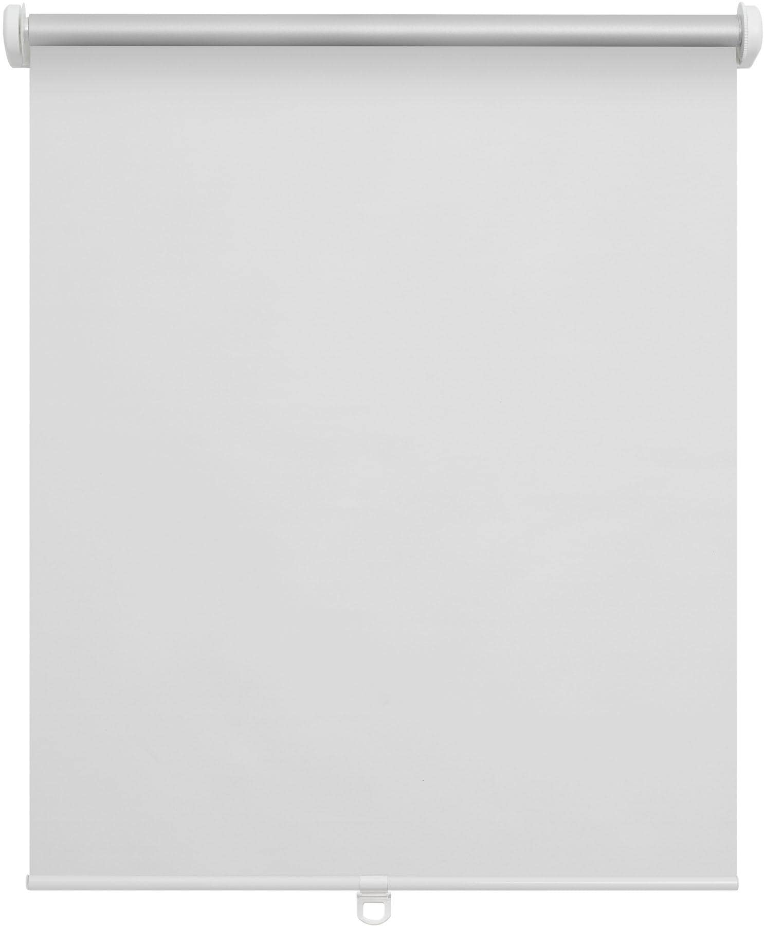 Springrollo Verdunkelungsrollo Klemmfix Mittelzug LICHTBLICK verdunkelnd ohne Bohren freihängend