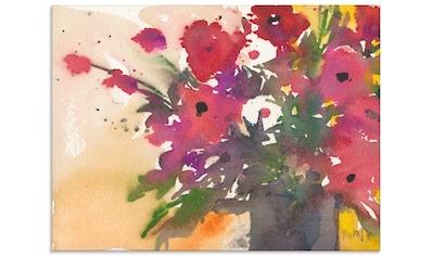 Artland Glasbild »Blumenetwas IV«, Blumen, (1 St.) kaufen