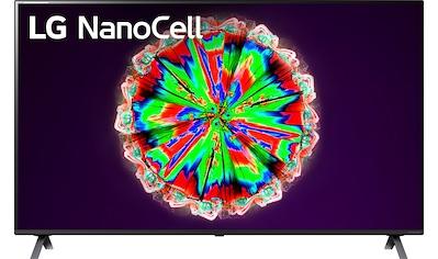 LG 55NANO806NA LED - Fernseher (139 cm / (55 Zoll), 4K Ultra HD, Smart - TV kaufen