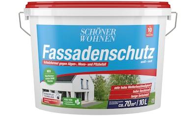 SCHÖNER WOHNEN-Kollektion Fassadenfarbe »Fassadenschutz 10 l«, hoch wetterbeständig... kaufen