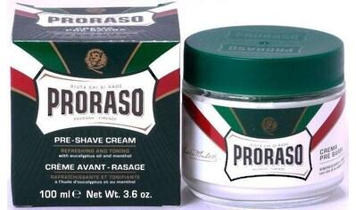 PRORASO Rasiercreme »Preshave Cream Green«, Rasurvorbereitung kaufen