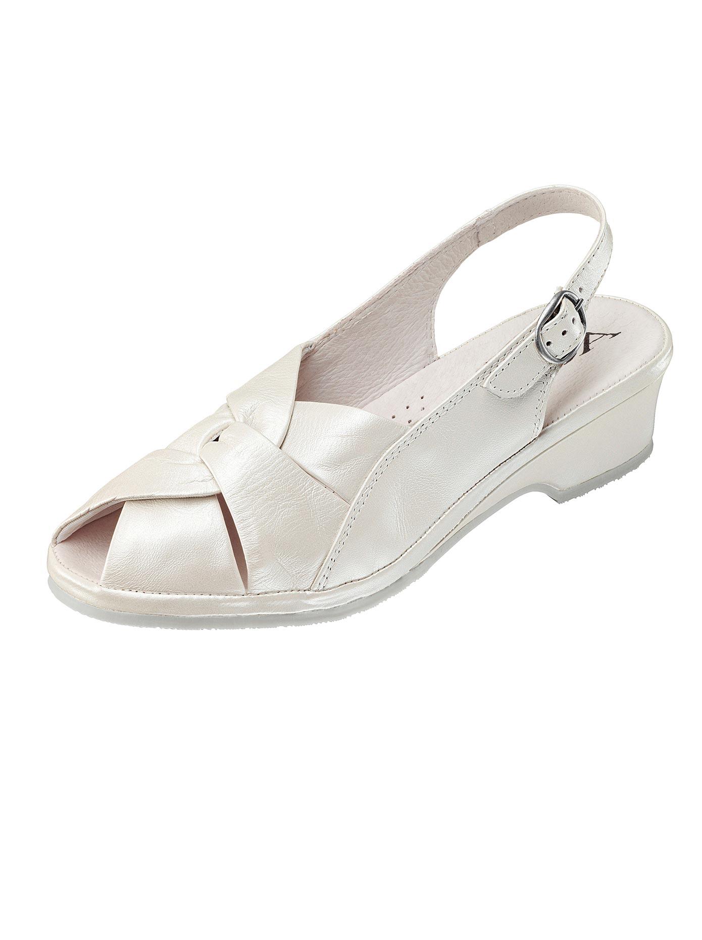 Aco Sandalette weiß Damen Sandaletten Sandalen